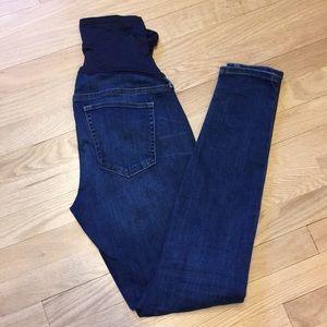 GAP maternity 1969 2R true skinny jeans